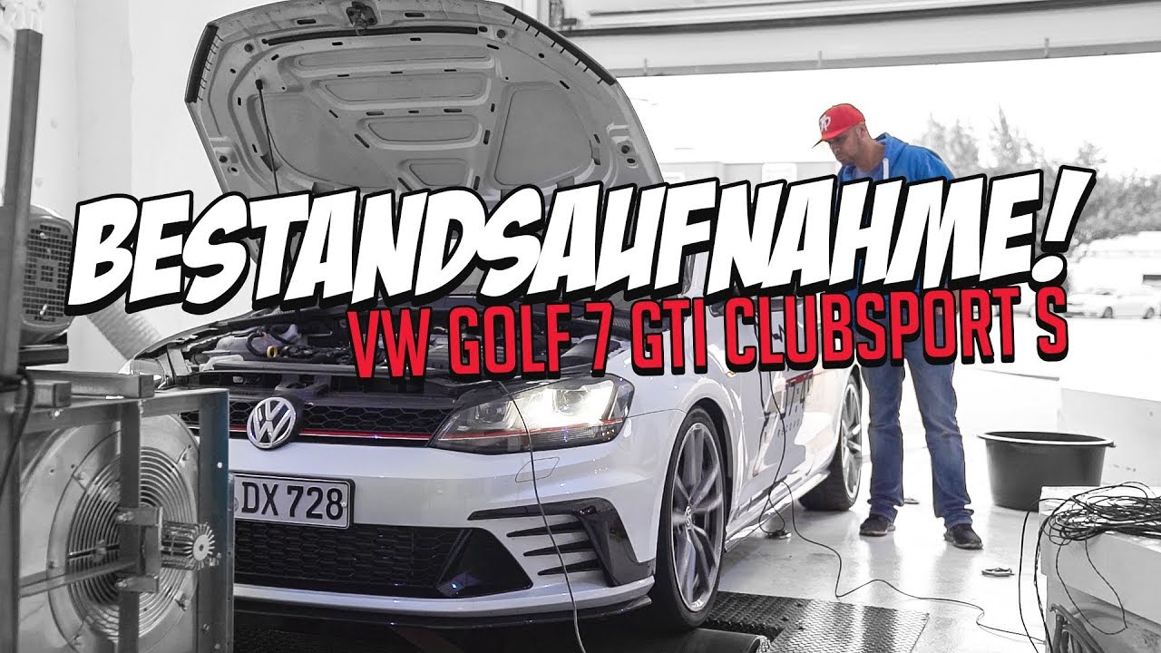 jp performance bestandsaufnahme vw golf 7 gti clubsport s projekt 02 jp performance. Black Bedroom Furniture Sets. Home Design Ideas